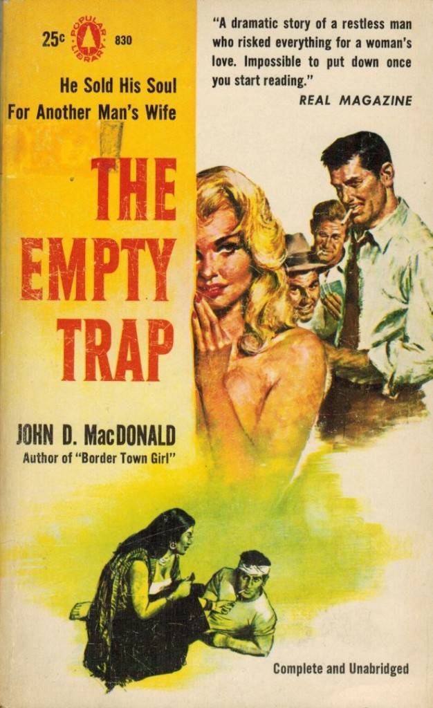 The Empty Trap popular Library 1957