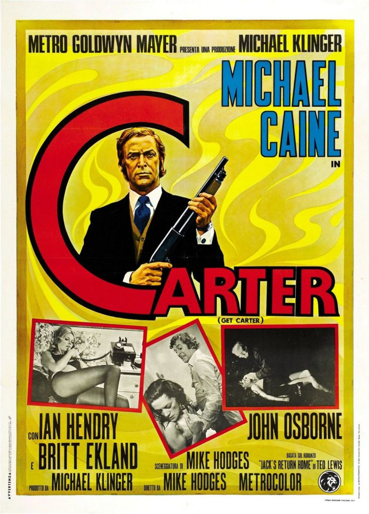 Get Carter movie poster version 1