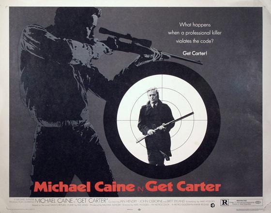 Get carter poster 1973
