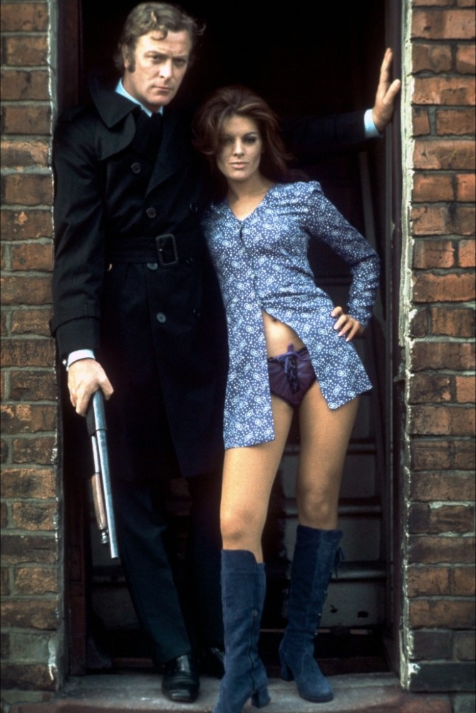 Michael Caine and Geraldine Moffat