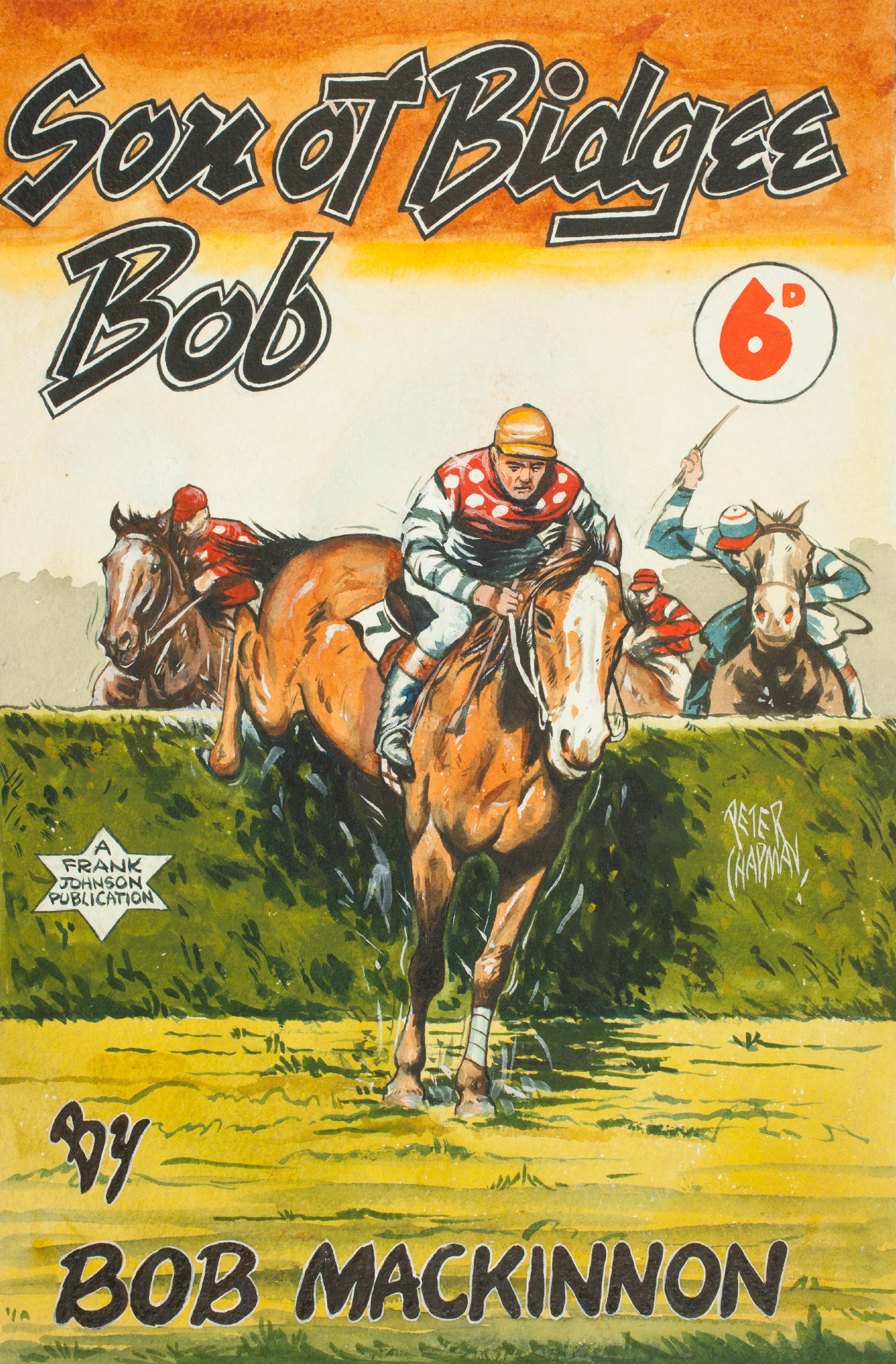 Son of Bidgee Bob 1947, cover art Peter Chapman,