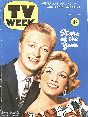 TV Week 1959 cover