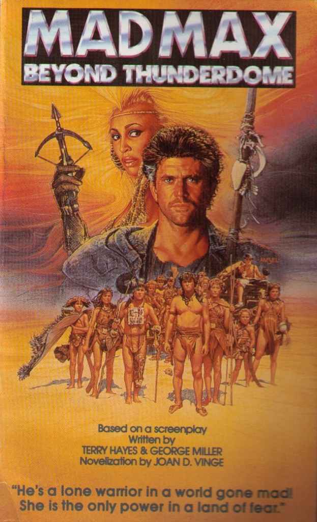 Mad Max 3 QB books 1985
